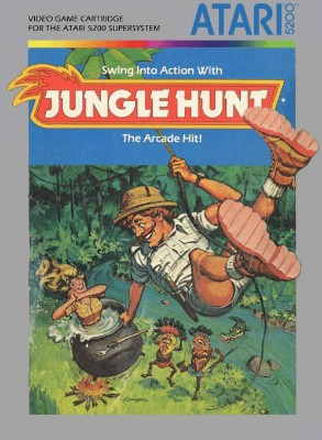 Jungle Hunt Cover Art