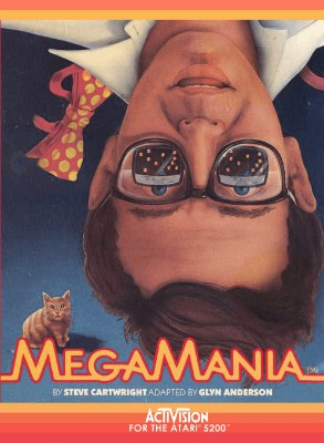 Megamania Cover Art