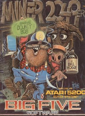 Miner 2049er Starring Bounty Bob Cover Art