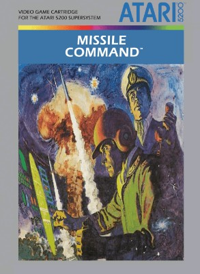 Missile Command Cover Art