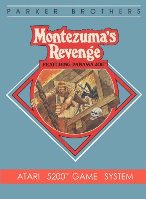 Montezuma's Revenge Featuring Panama Joe Cover Art
