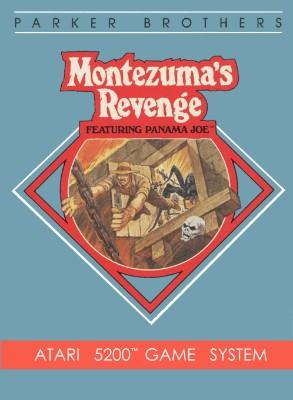 Montezuma's Revenge Featuring Panama Joe Cover Art