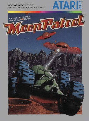 Moon Patrol Cover Art