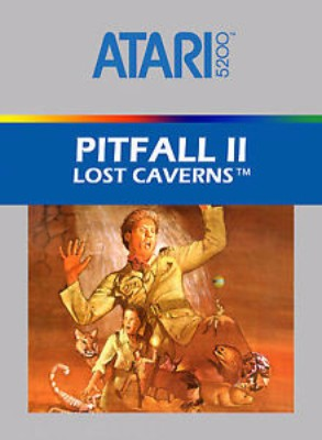 Pitfall II: Lost Caverns Cover Art