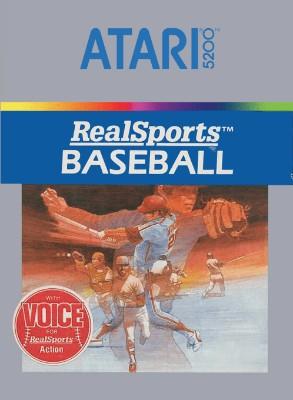 RealSports Baseball Cover Art