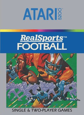 RealSports Football Cover Art