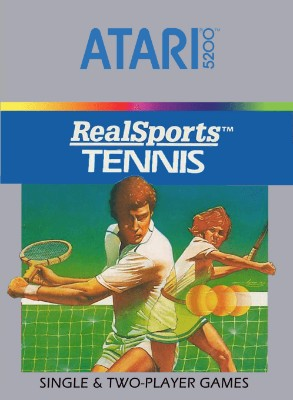 RealSports Tennis Cover Art