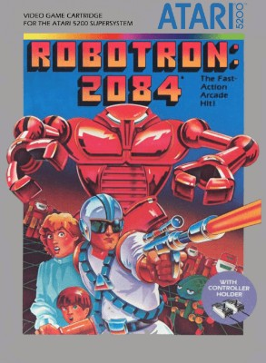 Robotron: 2084 Cover Art