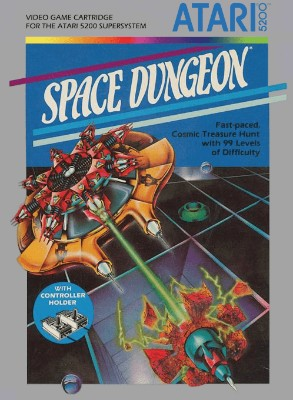 Space Dungeon Cover Art