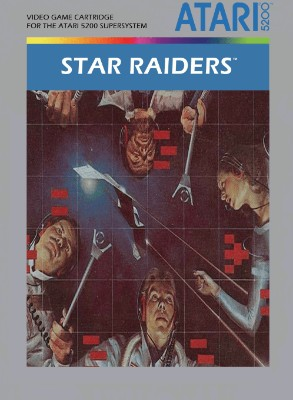 Star Raiders Cover Art