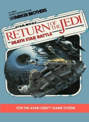 Star Wars: Return of the Jedi: Death Star Battle Cover Art