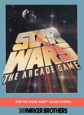 Star Wars: The Arcade Game Cover Art