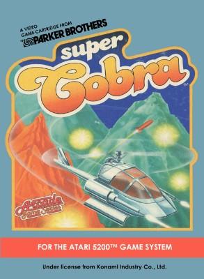 Super Cobra Cover Art