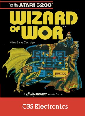 Wizard of Wor Cover Art