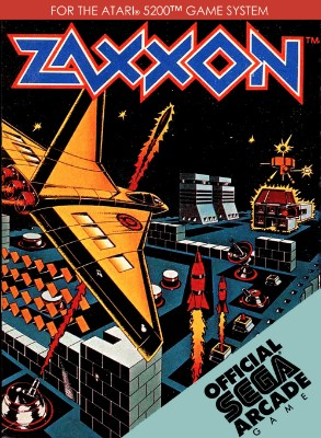 Zaxxon Cover Art