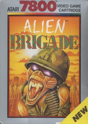 Alien Brigade Cover Art