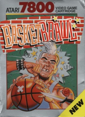 Basketbrawl Cover Art