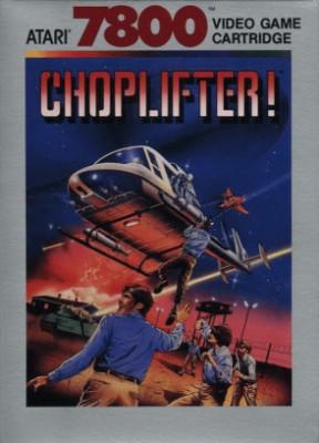 Choplifter! Cover Art