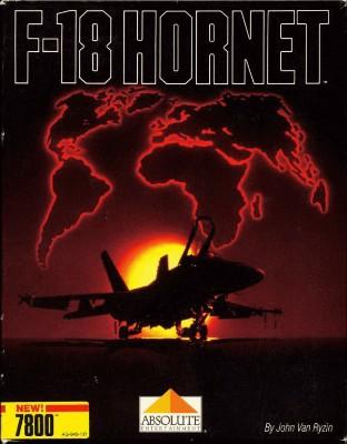 F-18 Hornet Cover Art