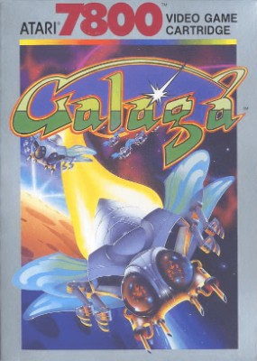 Galaga Cover Art