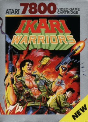 Ikari Warriors Cover Art