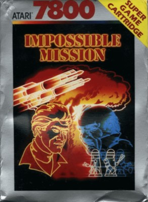 Impossible Mission Cover Art