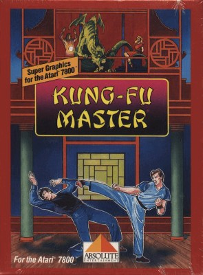 Kung-Fu Master Cover Art