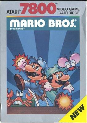Mario Bros. Cover Art