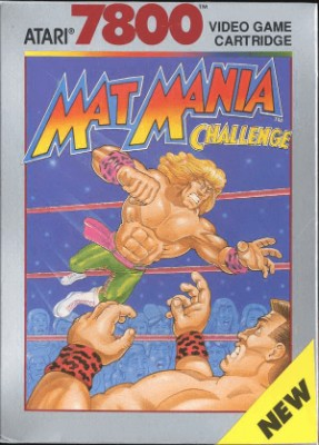 Mat Mania Challenge Cover Art