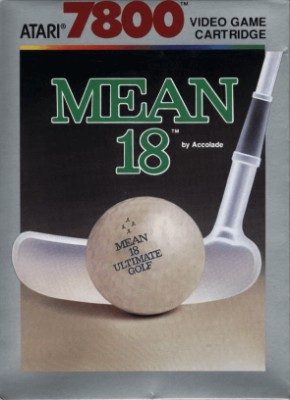 Mean 18 Ultimate Golf Cover Art