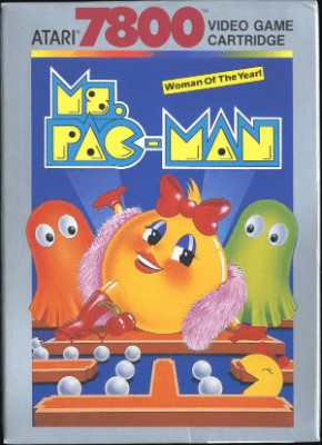 Ms. Pac-Man Cover Art