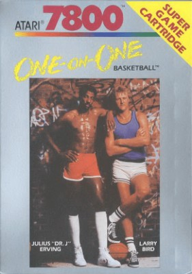 One-on-One Basketball Cover Art