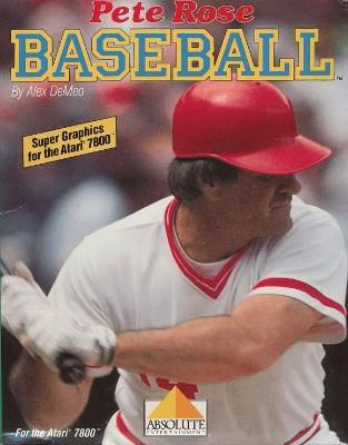 Pete Rose Baseball Cover Art