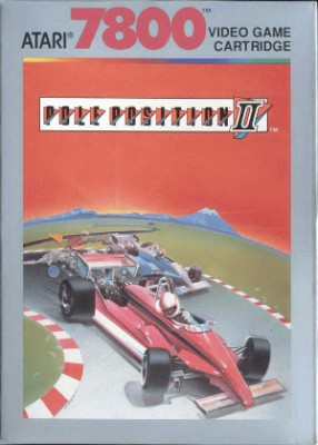 Pole Position II Cover Art