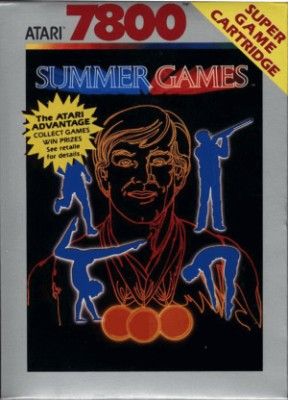Summer Games Cover Art
