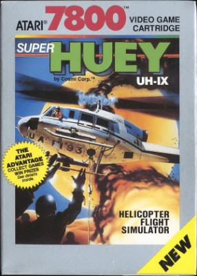 Super Huey UH-IX Cover Art