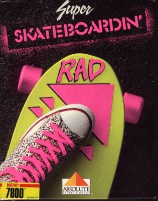 Super Skateboardin' Cover Art