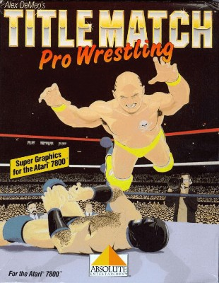 Title Match Pro Wrestling Cover Art