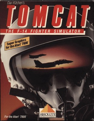 Tomcat: The F-14 Fighter Simulator Cover Art