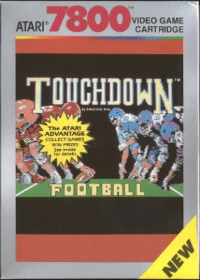 Touchdown Football Cover Art