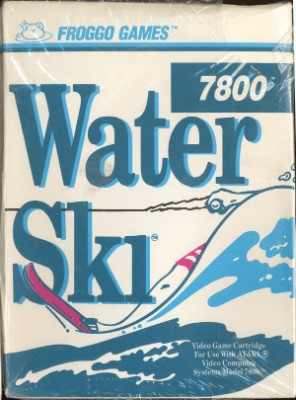 Water Ski Cover Art