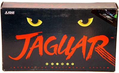 Atari Jaguar Console Cover Art