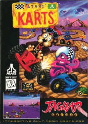 Atari Karts Cover Art