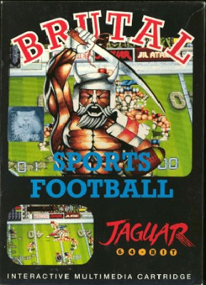 Brutal Sports Football Cover Art