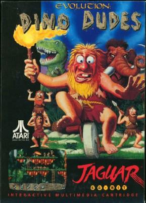 Evolution: Dino dudes Cover Art