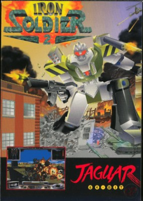 Iron Soldier 2 Cover Art