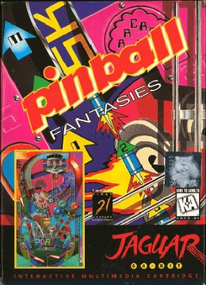 Pinball Fantasies Cover Art