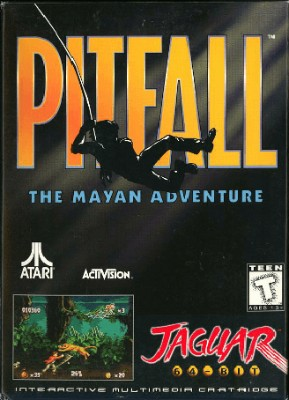 Pitfall: The Mayan Adventure Cover Art