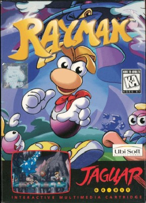 Rayman Cover Art