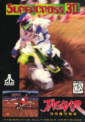 Supercross 3D Cover Art